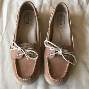 Sperry Top Sider Boat Shoes size 7.5 EUC